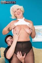 An ass-fucking for Grandma Jeannie
