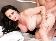 Rita fucks her son's big-dicked friend