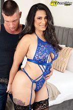 Sexy Latin chick MILF's first on-camera fuck