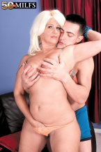 The bigger than typical assed Latina HORNY HOUSEWIFE and the big cock